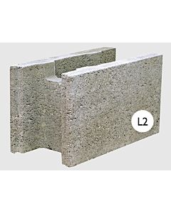 STEPOC 200MM L2 FULL LENGTH BLOCK (PACK OF 40) 11.11 BLOCKS PER m2 (3.6m2 PACK)