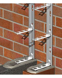 WALL STARTER STAINLESS UNIVERSAL  PACK 2.4M