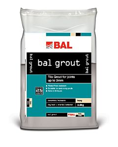BAL WALL GROUT 3.5KG IVORY