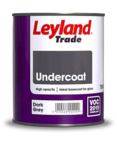LEYLAND UNDERCOAT DARK GREY 750ML