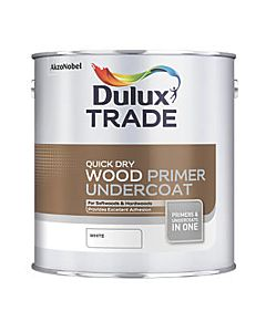 DULUX TRADE Q/D UNDERCOAT WHITE 2.5LTR