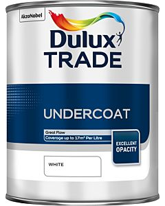 Dulux Trade Undercoat 1L White