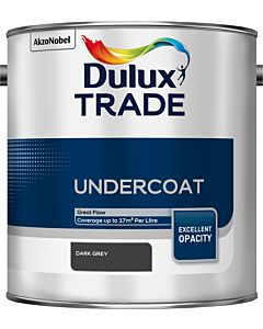DULUX TRADE UNDERCOAT DARK GREY 2.5LTR