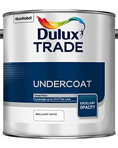 DULUX TRADE UNDERCOAT BRILLIANT WHITE 2.5L