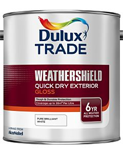 DULUX TRADE W/S Q/D EXT GLOSS PBW 2.5L