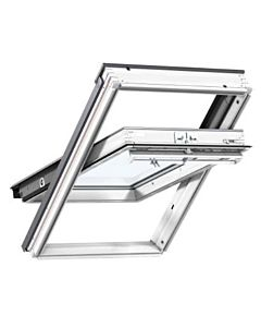 VELUX ROOF WINDOW  W780 X H980MM WHITE PAINTED CENTRE PIVOT