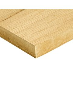 £28.50 PER SHEET - 6MM X 1220MM X 2440MM OAK FACED VENEERED MDF BOARD - PACK OF 50
