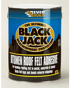 EVERBUILD 904 ROOF FELT ADHESIVE 5LTR