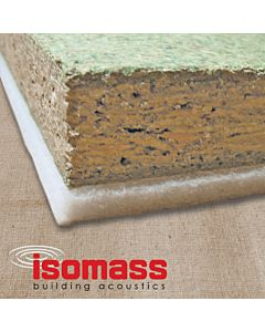 SHEETS ISOCHECK 24T 2400MM X 600MM X 24MM HIGH PERFORMANCE OVERLAY ACOUSTIC FLOOR PANE