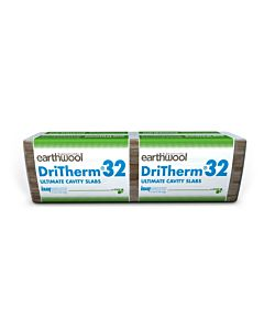 KNAUF EARTHWALL DRITHERM 85MM (2.73) 32