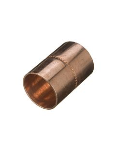22MM COPPER END FEED COUPLING