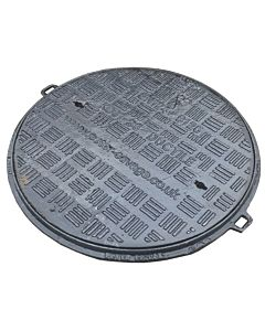 Ductile iron, Single seal, Solid Top Cover & Frame