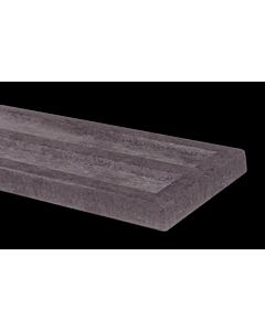 CONCRETE RECESSED GRAVEL BOARD 1830 X 150MM GBR150