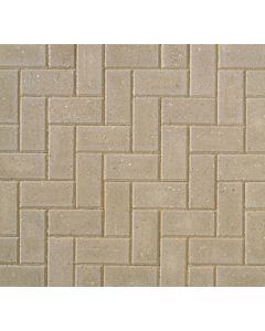 OMEGA BLOCK PAVING 200x100x50mm GREY