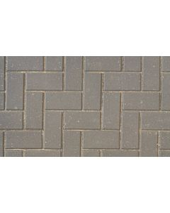 Brett Omega block paving 200x100x50mm - Charcoal