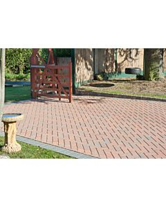 Brett Omega block paving 200x100x50mm - Brindle
