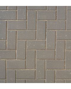 Brett Omega block paving 200x100x60mm - Charcoal