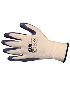 OX NITRILE FLEX GLOVES  S10 XLARGE OX-S249010