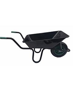 WHEEL BARROW BLACK 9102P 120LTR PNEUMATIC LARGE