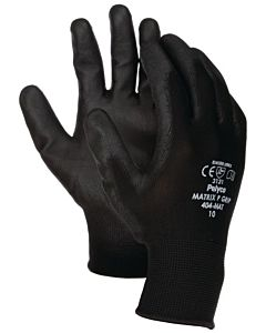 CLOSE-FIT NITRIFIT GLOVES (SIZE9) - BLACK