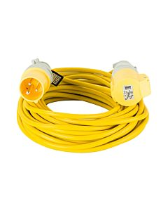 WORKSAFE TRAILING CABLE LEAD 110V 14MTR 2.5MM EL25110