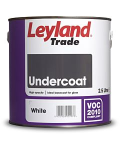 LEYLAND TRADE  UNDERCOAT WHITE 2.5LTR
