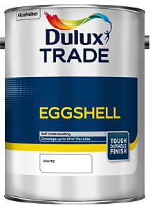 Dulux Trade Eggshell 5L White