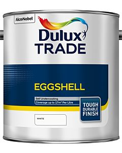Dulux Trade Eggshell 2.5L White