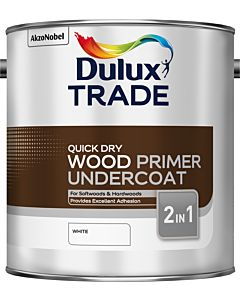Dulux Trade Quick Drying Wood Primer Undercoat 2.5L