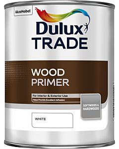 Dulux Trade Wood Primer 1L White
