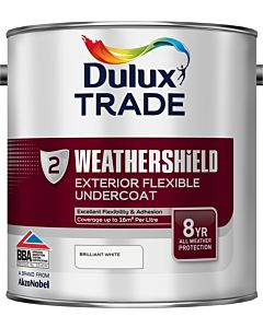 DULUX TRADE W/SHIELD UNDERCOAT BRILLIANT WHITE 2.5LTR