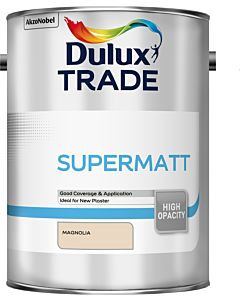Dulux Trade Supermatt Interior Paint 5L Magnolia