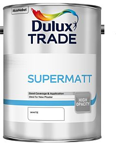Dulux Trade Supermatt Interior Paint 5L White