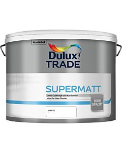 Dulux Trade Supermatt Interior Paint 10L White