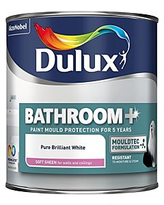 DULUX RETAIL BATHROOM+ PAINT SOFT SHEEN PBW 2.5L 5092175