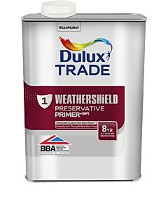 DULUX TRADE W/SHIELD EXTERIOR PRESERVATIVE PRIMER 1LTR