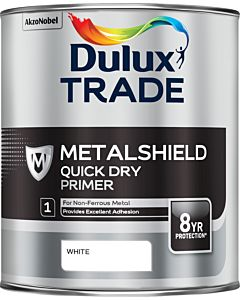 DULUX TRADE METALSHIELD Q/D PRIMER GREY 1L