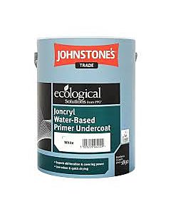 JOHNSTONE JONCRYL ACRYLIC PRIMER/UNDERCOAT 5LTR (WATER BASED B/WHITE)