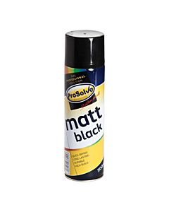 TETROSYL SPRAY PAINT MATT BLACK 400ML