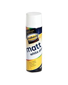 TETROSYL SPRAY PAINT MATT WHITE 400ML