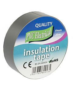 INSULATING TAPE 19MM X 20M GREY