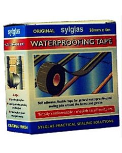 SYLGLAS ORIGINAL WATERPROOF TAPE 4M X 50MM SYLWT50