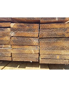 MTRS 22 X 100 SAWN AND TREATED BROWN FSC MIX 70% CU-COC-839723