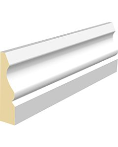 18MM X 68MM OGEE ARCHITRAVE MDF WHITE PRIMED