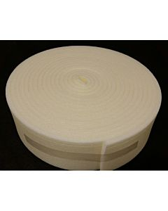 POLYETHYLENE 10MM X 140MM X 10M EXPANSION JOINT (BRICKFILL) CREAM