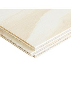 £13.65 PER SHEET - 18MM X 600MM X 2440MM T&G SOFTWOOD PINE PLYWOOD - PACK OF 108