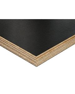 £23.25 PER SHEET - 18MM X 1220MM X 2440MM BLACK FILM FACED PHENOLIC PLYWOOD - PACK OF 50