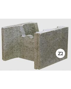 STEPOC 325MM Z2 FULL LENGTH BLOCK (PACK OF 24) 13.68 BLOCKS PER m2 (1.75m2 PACK)