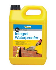 EVERBUILD 5LTR 202 INTEGRAL WATERPROOFER