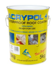 ACRYPOL+ SOLAR WHITE (WATERPROOF ROOF COATING) 5KG